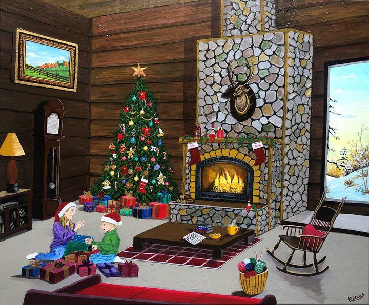 The Spirit Of Christmas - Ritina's Gallery