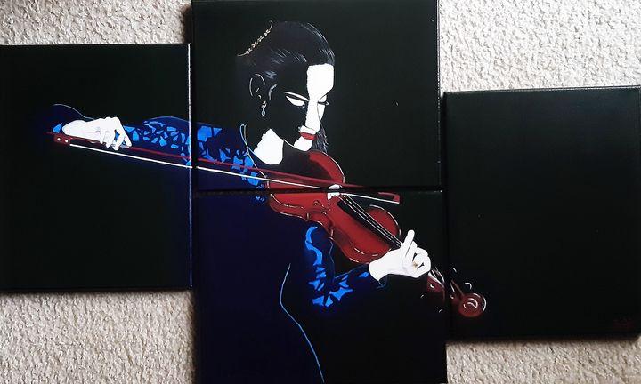 Violinista - Musicisti - Ritina's Gallery