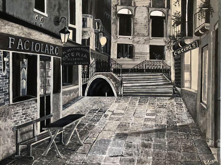 Angelo Della Strada (Street Corner) - Ritina's Gallery
