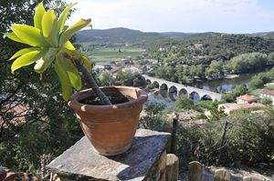The bridge at Roquebrune