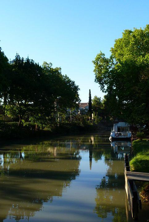 Poilhes, Canal du Midi - Leigh Rowland