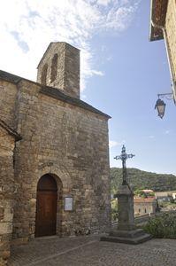 Minerve Church, Languedoc, France