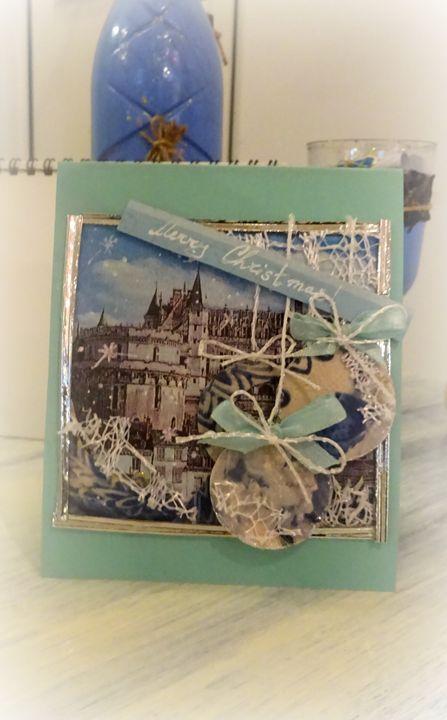 Green-blue Christmas - Kartessa Rosa