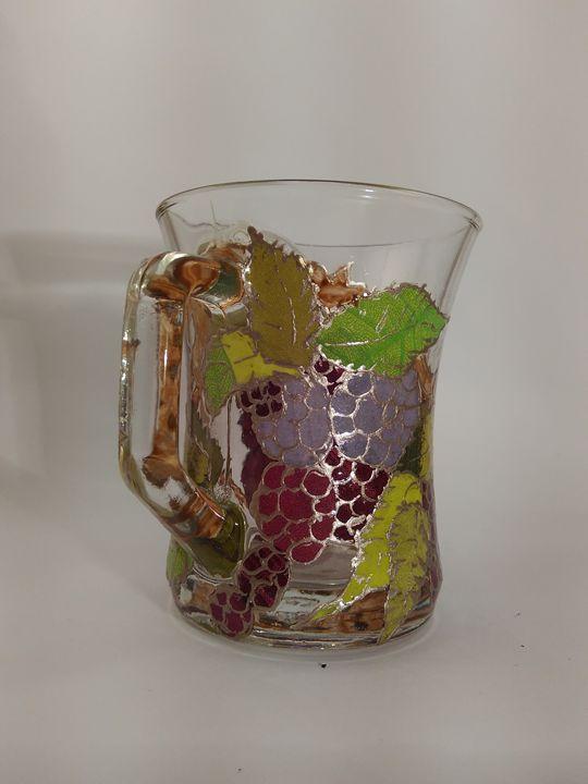 Blackberries tea cup - Kartessa Rosa