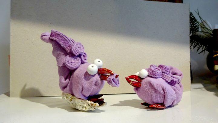 Easter chickens - Kartessa Rosa