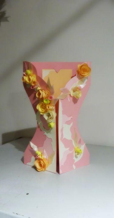 Spring and pink dress card - Kartessa Rosa