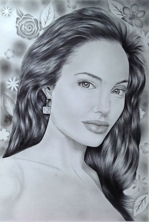 Angelina Jolie - Markerharmonica