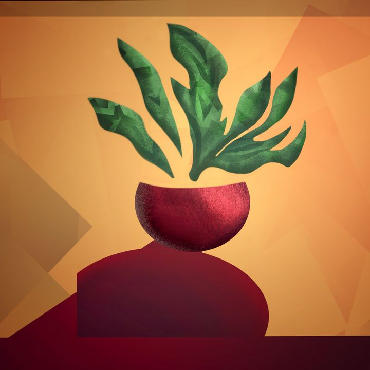 Grow Slow - Art by Gato 🐆