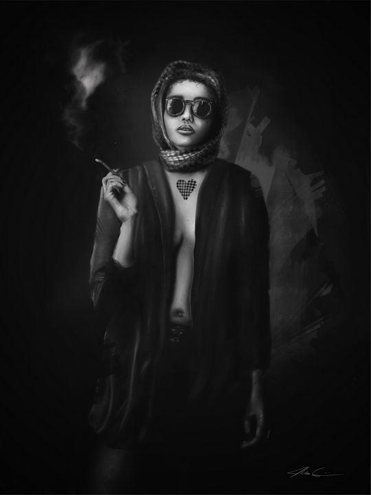 Smolder - Art by Gato 🐆