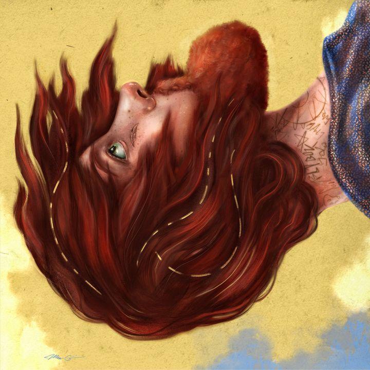 Free-fall - Art by Gato 🐆