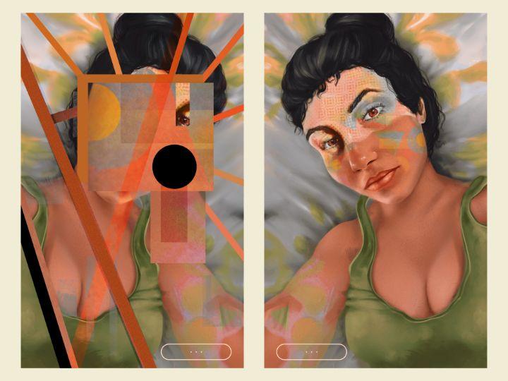 divine-reflection - Art by Gato 🐆