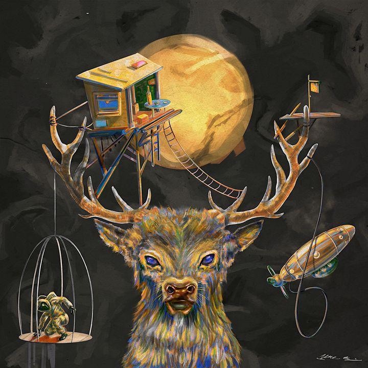 The Oldest Nightwalker - Art by Gato 🐆