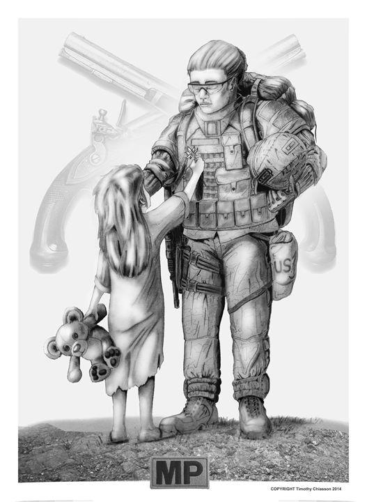 """Remember Me"" - Timothy Chiasson Military Art"