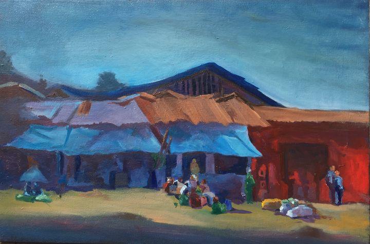 Open market in Ethiopia at merkato - Biniyam Abera