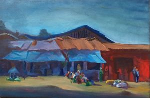 Open market in Ethiopia at merkato