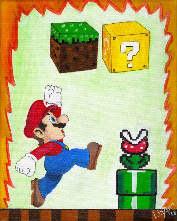 Mario Minecraft - Lisa Ann Gaydos