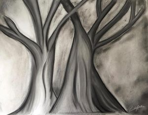 Charcoal Trees