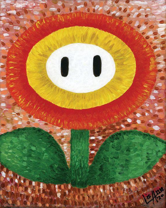 Super Mario Flower - Lisa Ann Gaydos