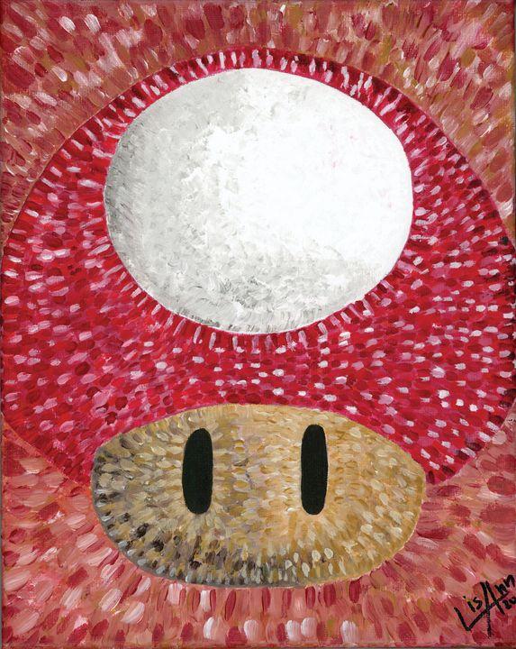 Super Mario Mushroom - Lisa Ann Gaydos