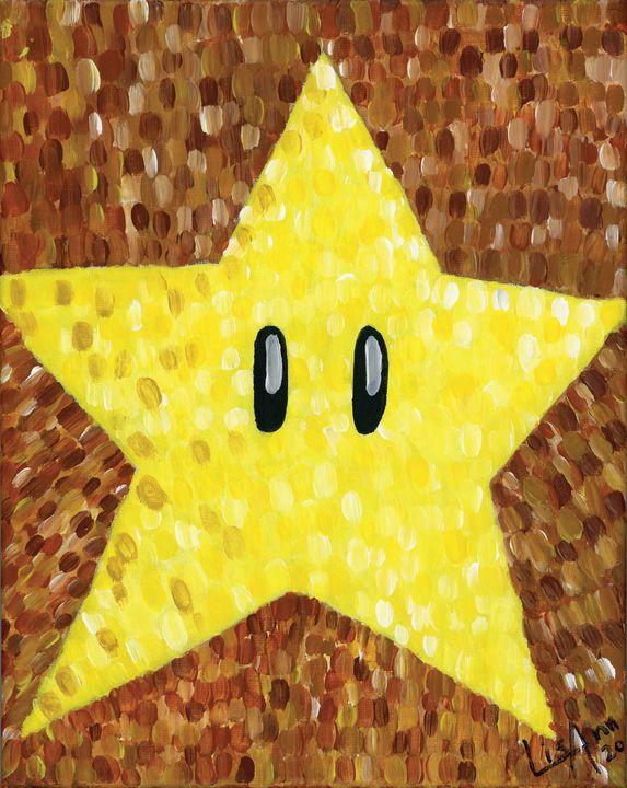 Super Mario Star - Lisa Ann Gaydos