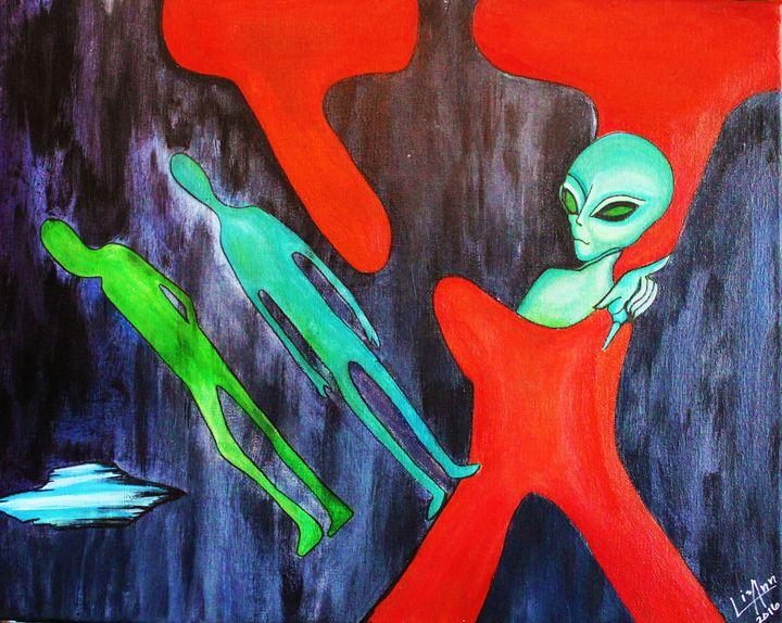 X-Aliens - Lisa Ann Gaydos