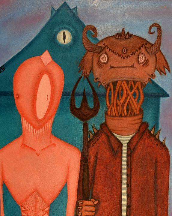 Un-American Gothic - The Blushing Banshee