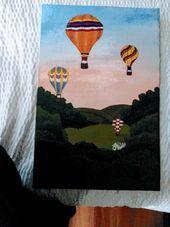 Jeff's acrylic paintings