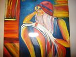Kaitlyn in class - Tamar Gargir's Art