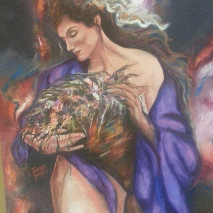 Greek Goddess - Tamar Gargir's Art