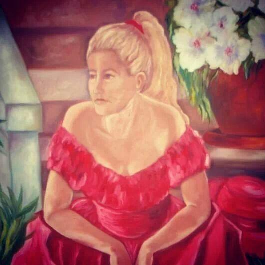 Lady in Red - Tamar Gargir's Art