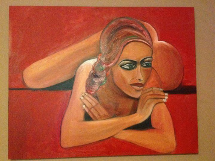Liron in Love - Tamar Gargir's Art