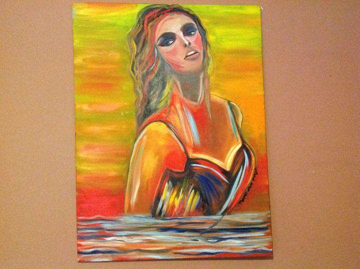 Charlotte from the Sea - Tamar Gargir's Art