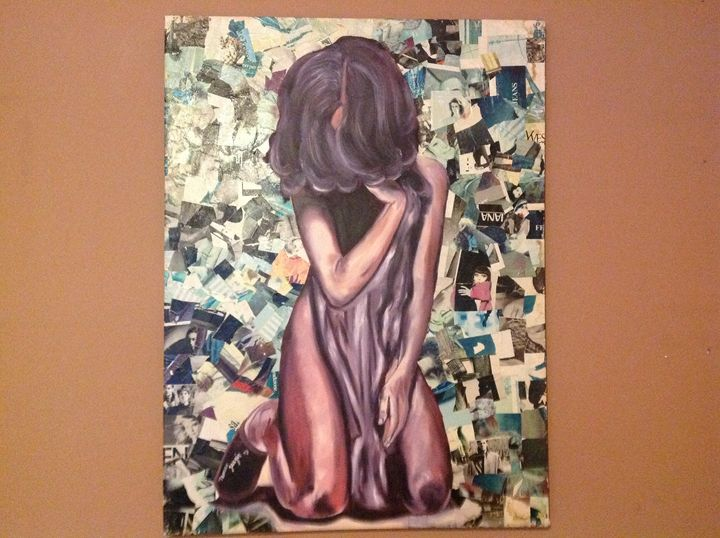 Collage Girl - Tamar Gargir's Art