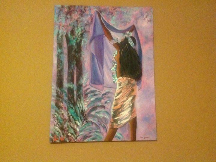 Tropical Forest - Tamar Gargir's Art