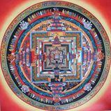 Kalachakra Mandala Original Painting