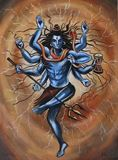 Lord Shiva Painting in Acrylics