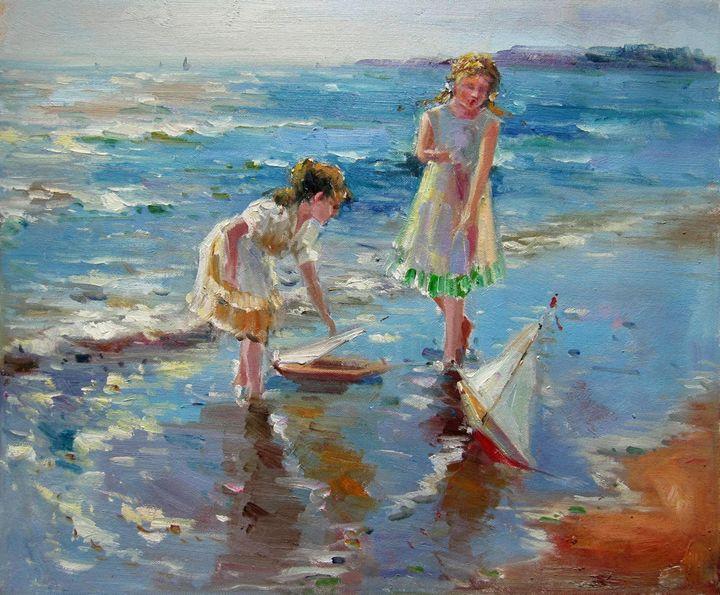 Play on the beach #240 - Richard Zheng