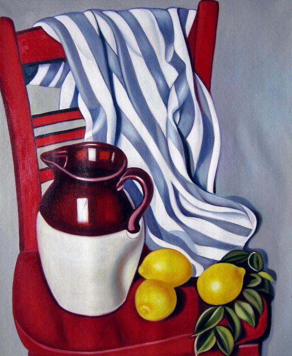 Reproduction Tamara De Lempicka #302 - Richard Zheng