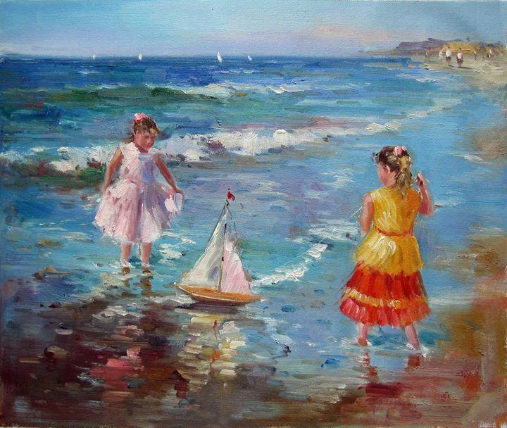 Play on the beach #238 - Richard Zheng