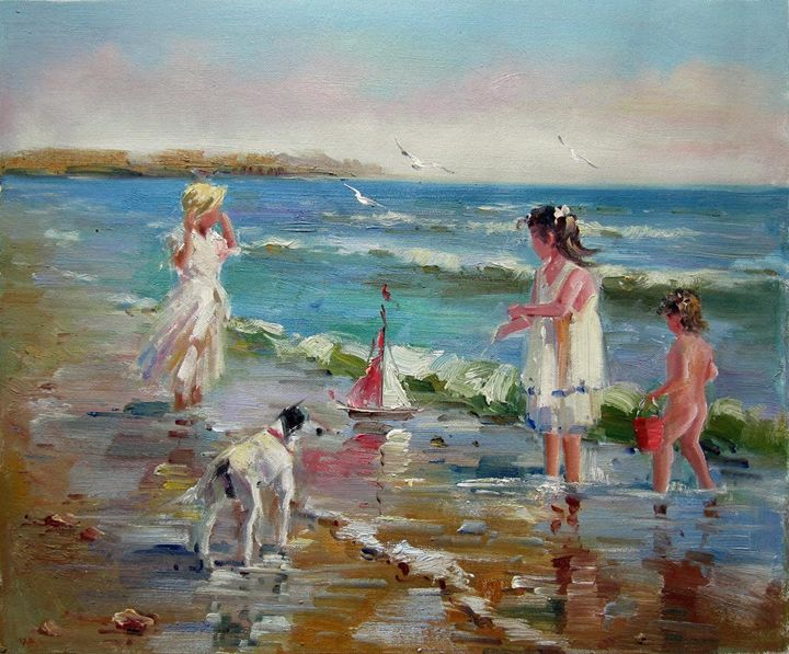 Play on the beach #239 - Richard Zheng