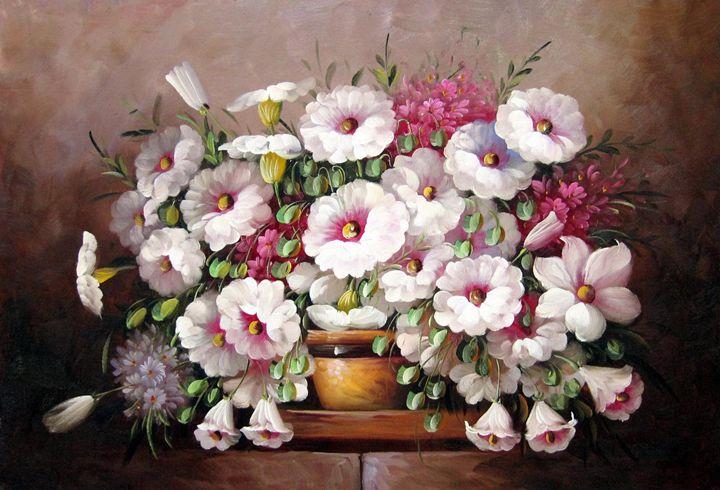 Flower in vase #518 - Richard Zheng