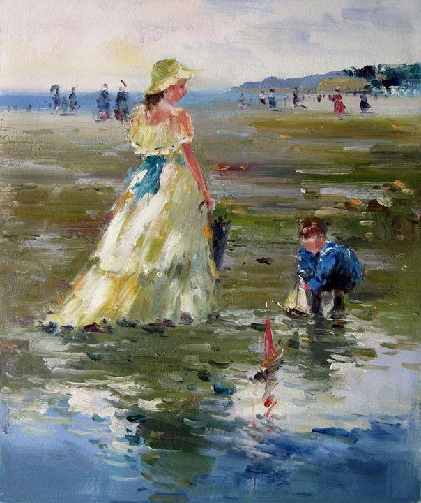 Play on the beach #241 - Richard Zheng
