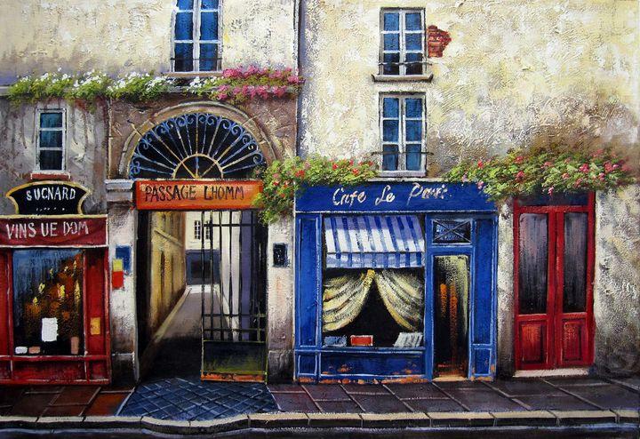 Caffee shop #001 - Richard Zheng