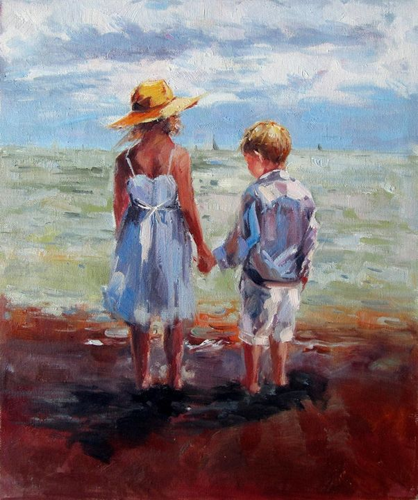 Play on the beach #236 - Richard Zheng