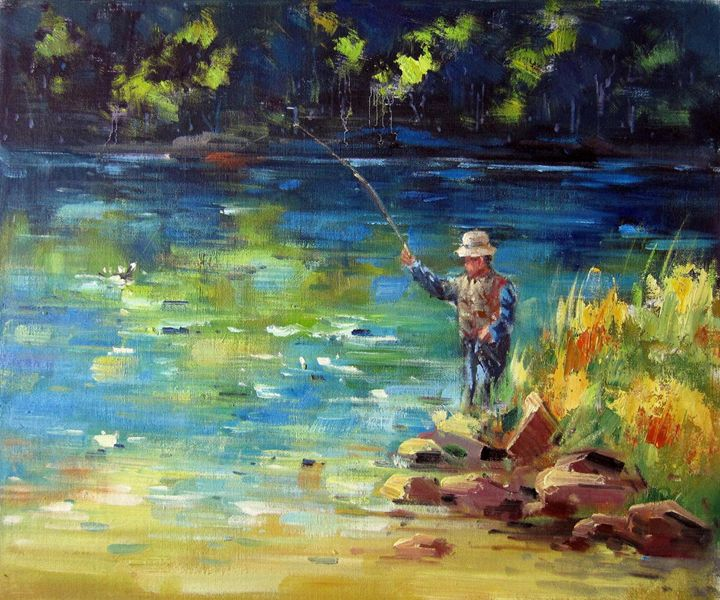 Fishing #102 - Richard Zheng