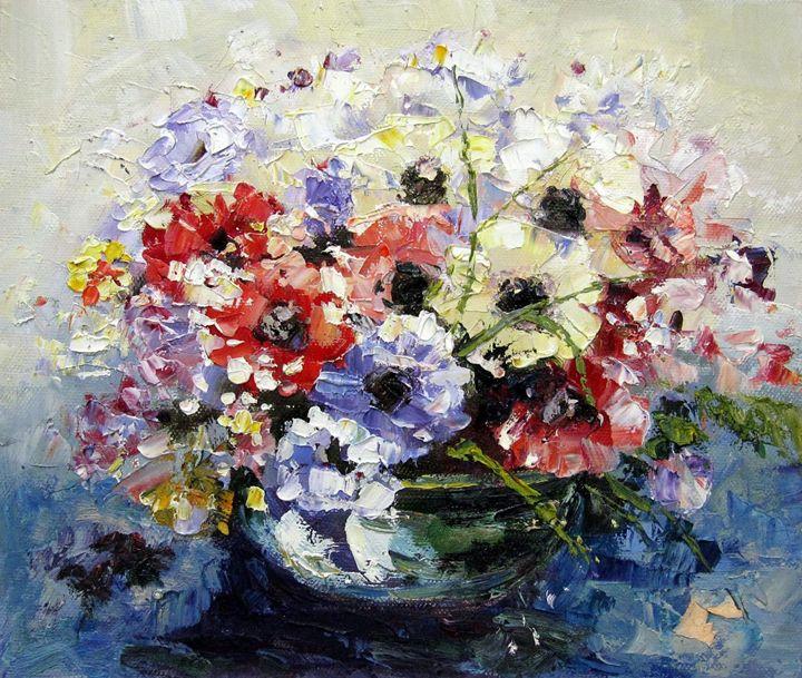 Vase flower #316 - Richard Zheng