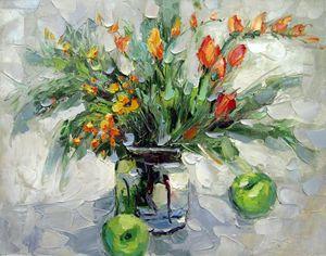 Vase flower #317