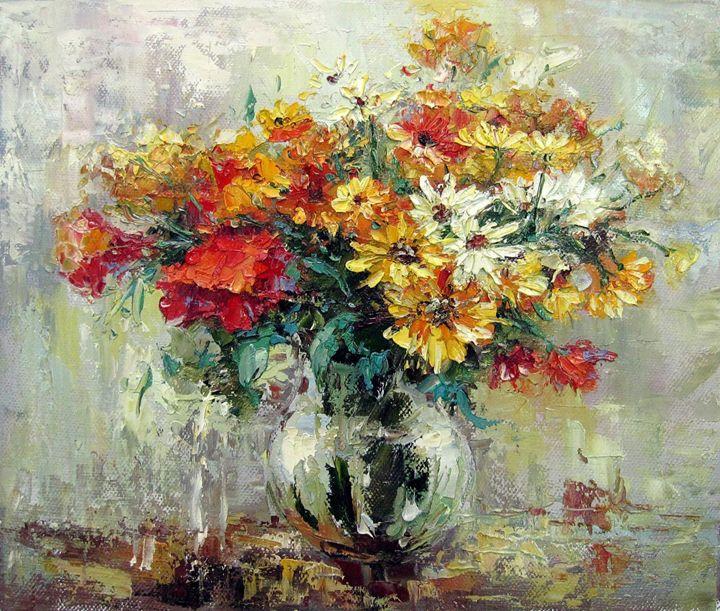 Vase flower #320 - Richard Zheng