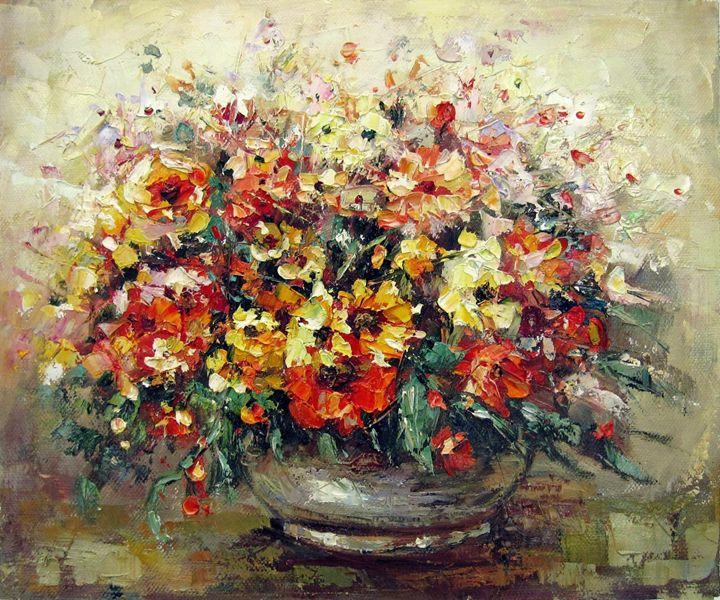 Vase flower #321 - Richard Zheng