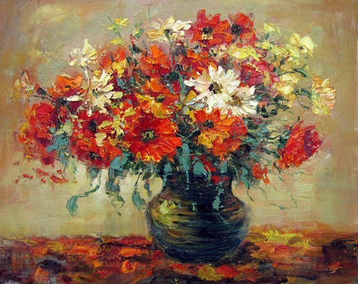Vase flower #324 - Richard Zheng
